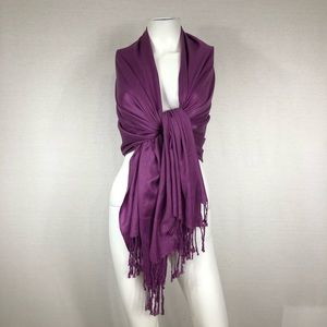 Purple Scarf or wrap